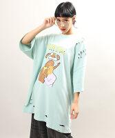 PUNYUS(プニュス)   FUGUバニービッグTシャツ