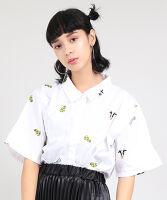 ぷにゅす プニュス | カウチーズ総刺繍シャツ
