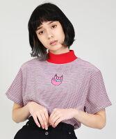 PUNYUS(プニュス) | カラーボーダーハイネックTシャツ