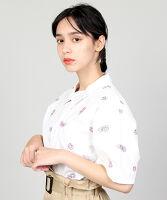 ぷにゅす プニュス | 総柄刺繍シャツ