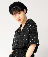 ぷにゅす プニュス | ドット柄開襟シャツ