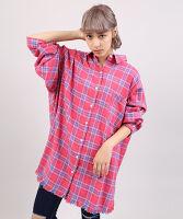 ぷにゅす プニュス | ダメージチェックシャツ