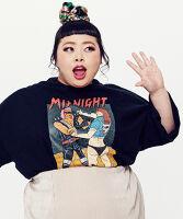 ぷにゅす プニュス | ミッドナイトBIGTシャツ