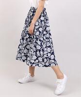 ぷにゅす プニュス | 花柄ロングスカート