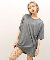 PUNYUS(プニュス) | ラメビッグTシャツ