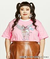 PUNYUS(プニュス)   プリントリンガーTシャツ