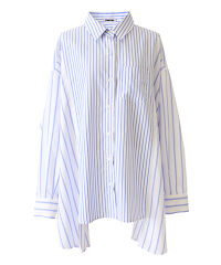 ぷにゅす プニュス | デザインストライプビッグシャツ