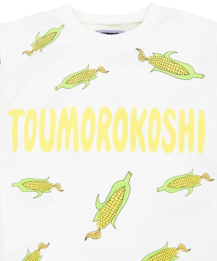 フード総柄Tシャツ(EBI TOUMOROKOSHI XIAOLONGBAO)