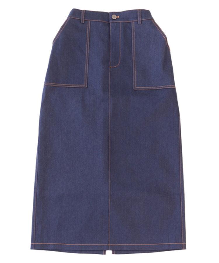 セミタイトロングスカート