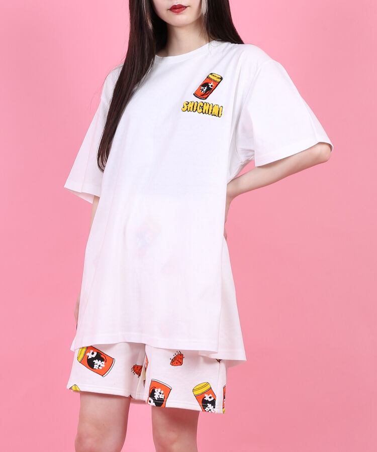 フードサガラ刺繍Tシャツ