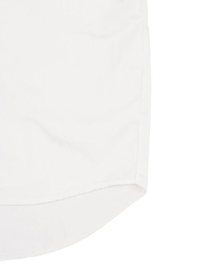 リボン付きボリューム半袖ブラウス